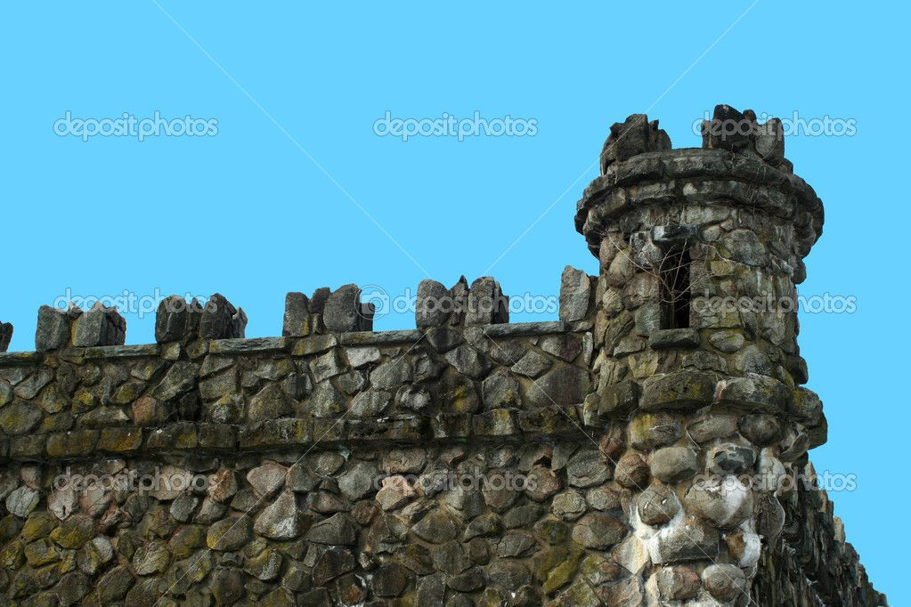 stone castles | Old stone castle - Stock Image | Castles ...