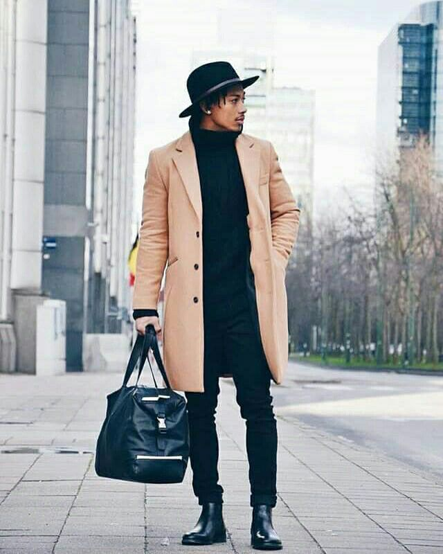 Brussels Black Chelsea Boots Outfit