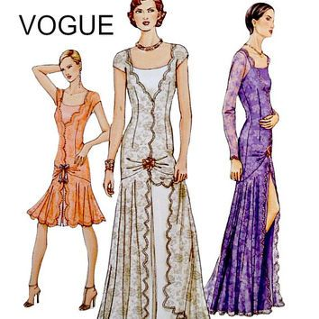 Shop The Latest Vogue Wedding Dress Patterns Products From Design Rewind Fashions EarthToMarrs On Etsy And More Wanelo Worlds Biggest Shopping