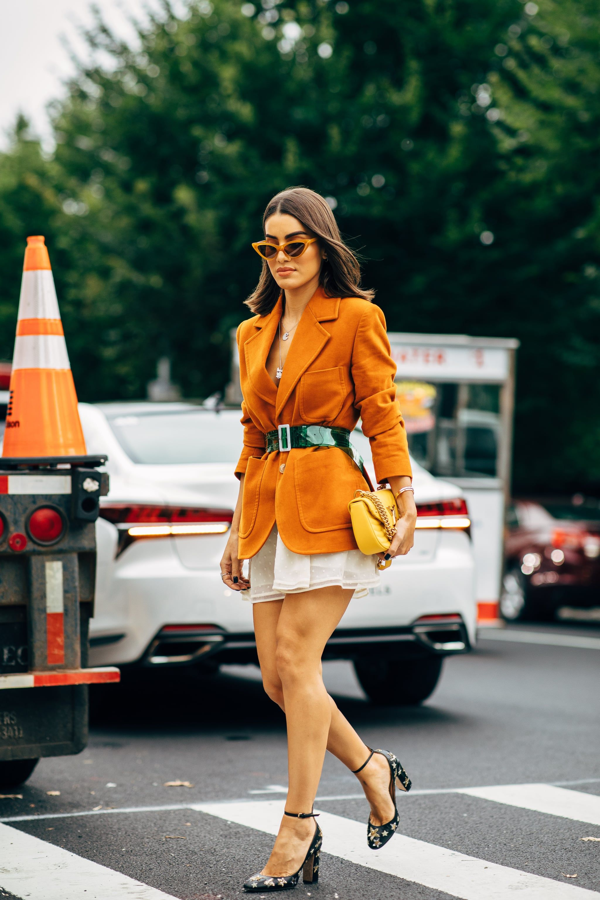 Spring nyfw brightest street style moments