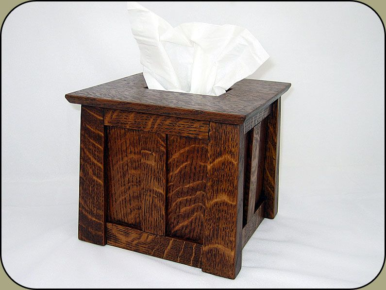 Craftsman Tissue Box Cover 315 00 Our Beautiful Style Cube Slips Over Any Standard And Will Add A Touch Of Cl To Room