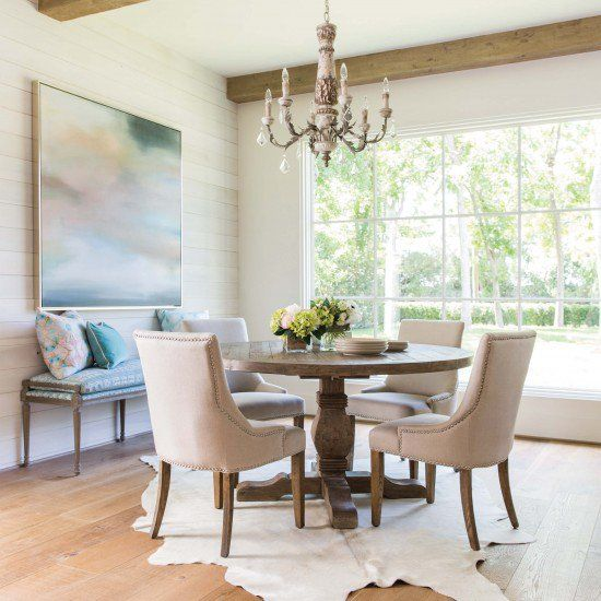 Caleb Round Dining Table Modern Dining Room Dining Room