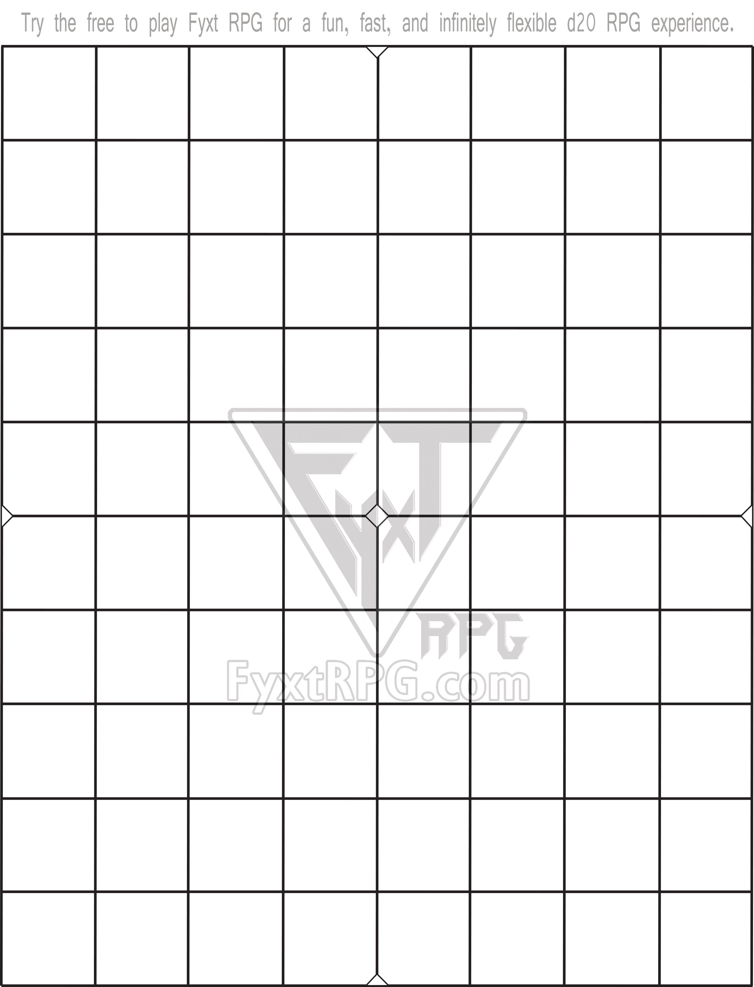 photograph about Printable Dnd Grid named Pin upon Fyxt RPG