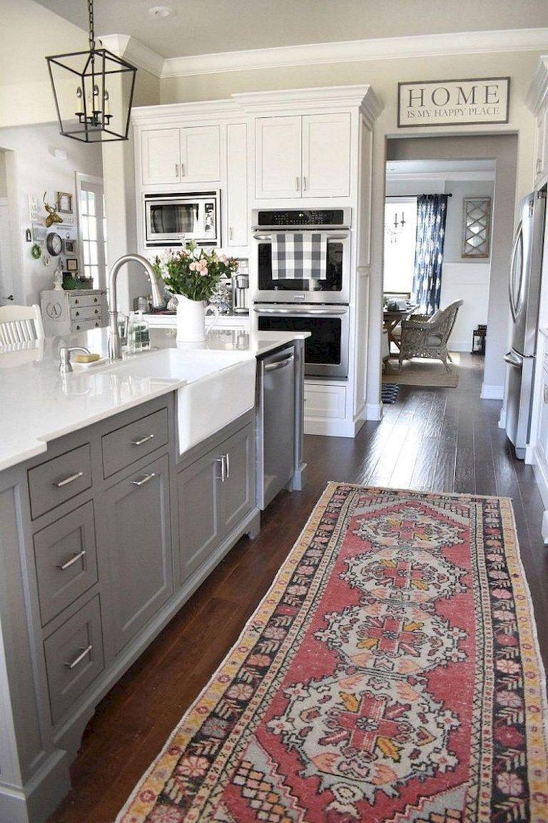 Best 50 Elegant Farmhouse Kitchen Decor Ideas 11 Kitchen Design 400 x 300