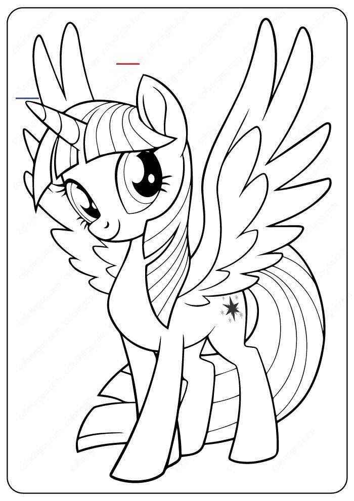twilight sparkle coloring pages pin on linda  unicorn