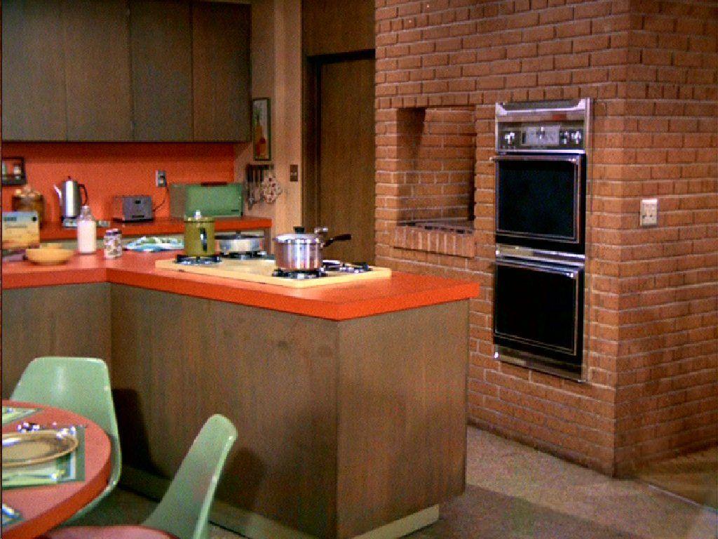 The Brady Bunch Kitchen #bradybunchhouse