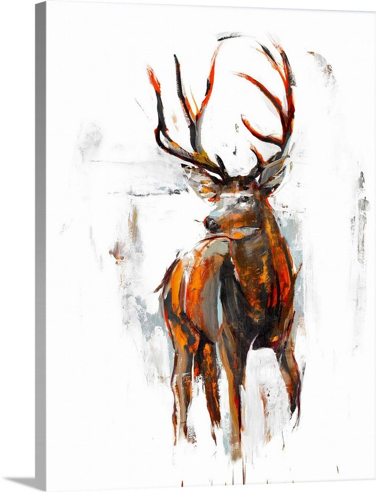 Oh Deer In 2020 Deer Artwork Animals Artwork Deer Wall Art