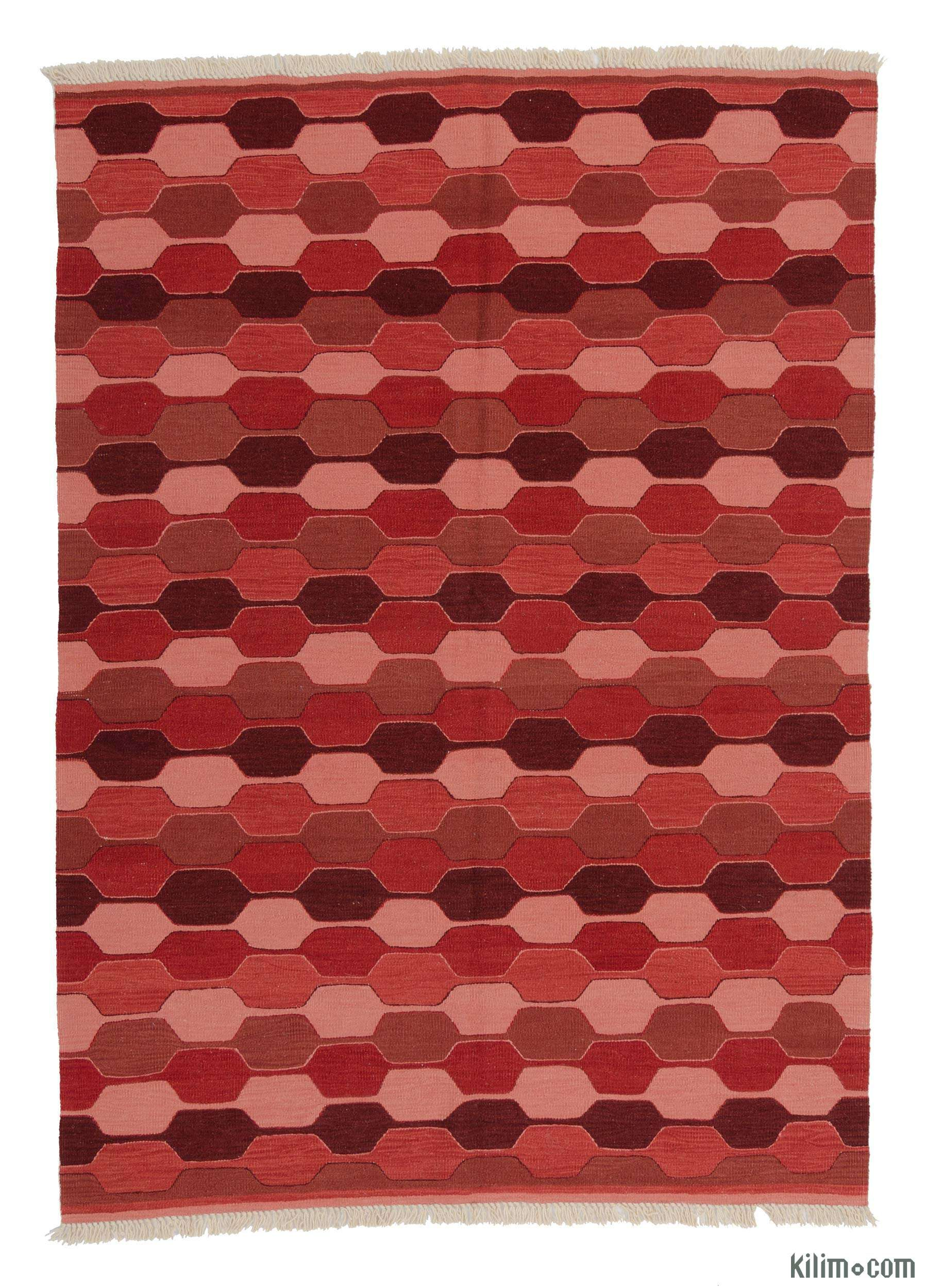 Teppiche Vintage Patchwork K0006443 New Turkish Kilim Kilim Rugs Overdyed Vintage Rugs