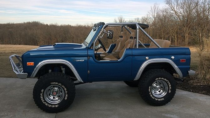 1974 Ford Bronco Class Winner At World Of Wheels Mecum Auctions Ford Bronco Ford Trucks Bronco Truck
