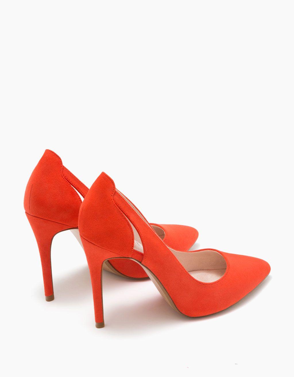 eb1ba0c9d9572b Escarpins talon fin découpe | wish <3 | Chaussures talons, Chaussure ...