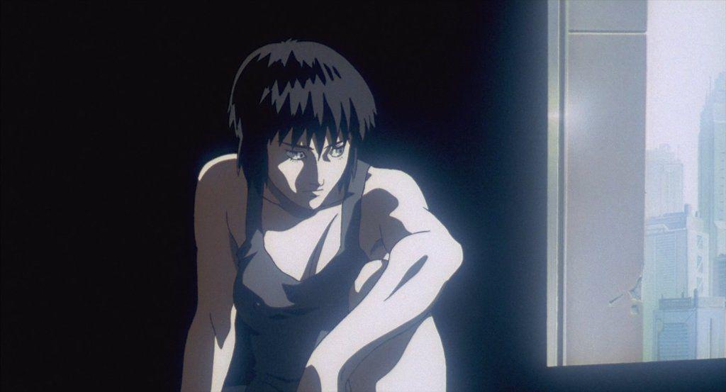 Motoko Kusanagi Waking Up By Edua234 Ghost In The Shell Ghost Motoko Kusanagi