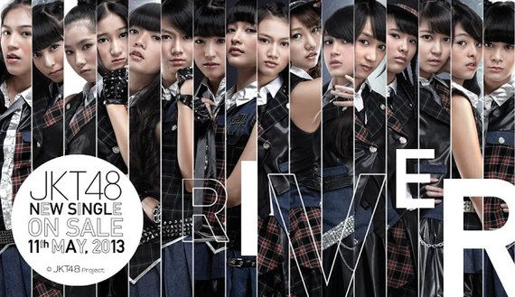 JKT48 - River | Lirik lagu, Lagu, Renaissance