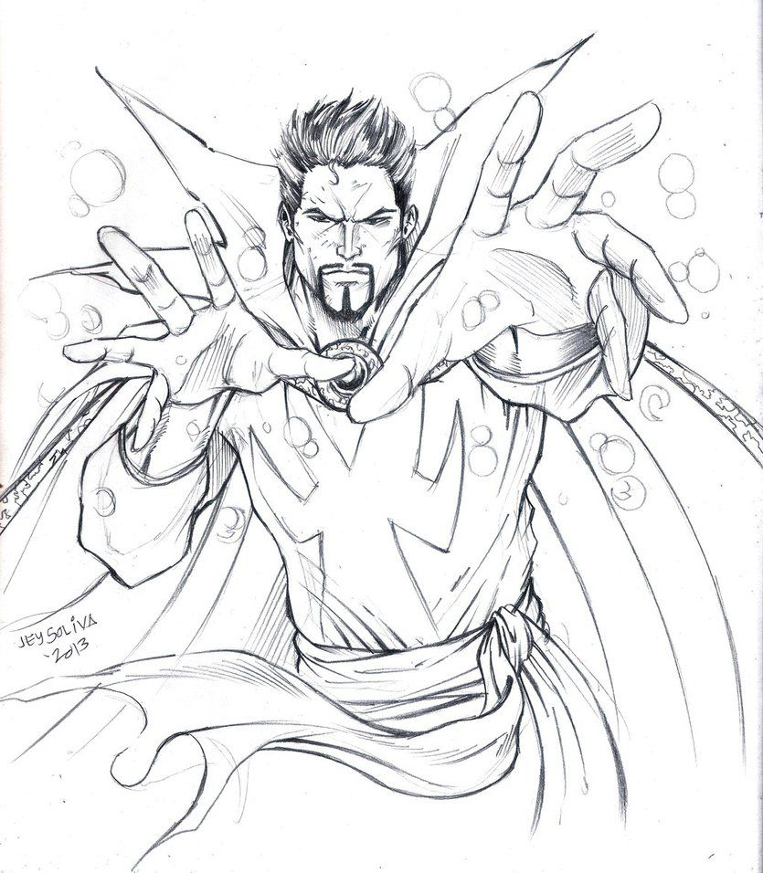 Dr Strange For Coloring By Jey2dworld D6braot Jpg 835 956 Avengers Coloring Pages Avengers Coloring Coloring Pages
