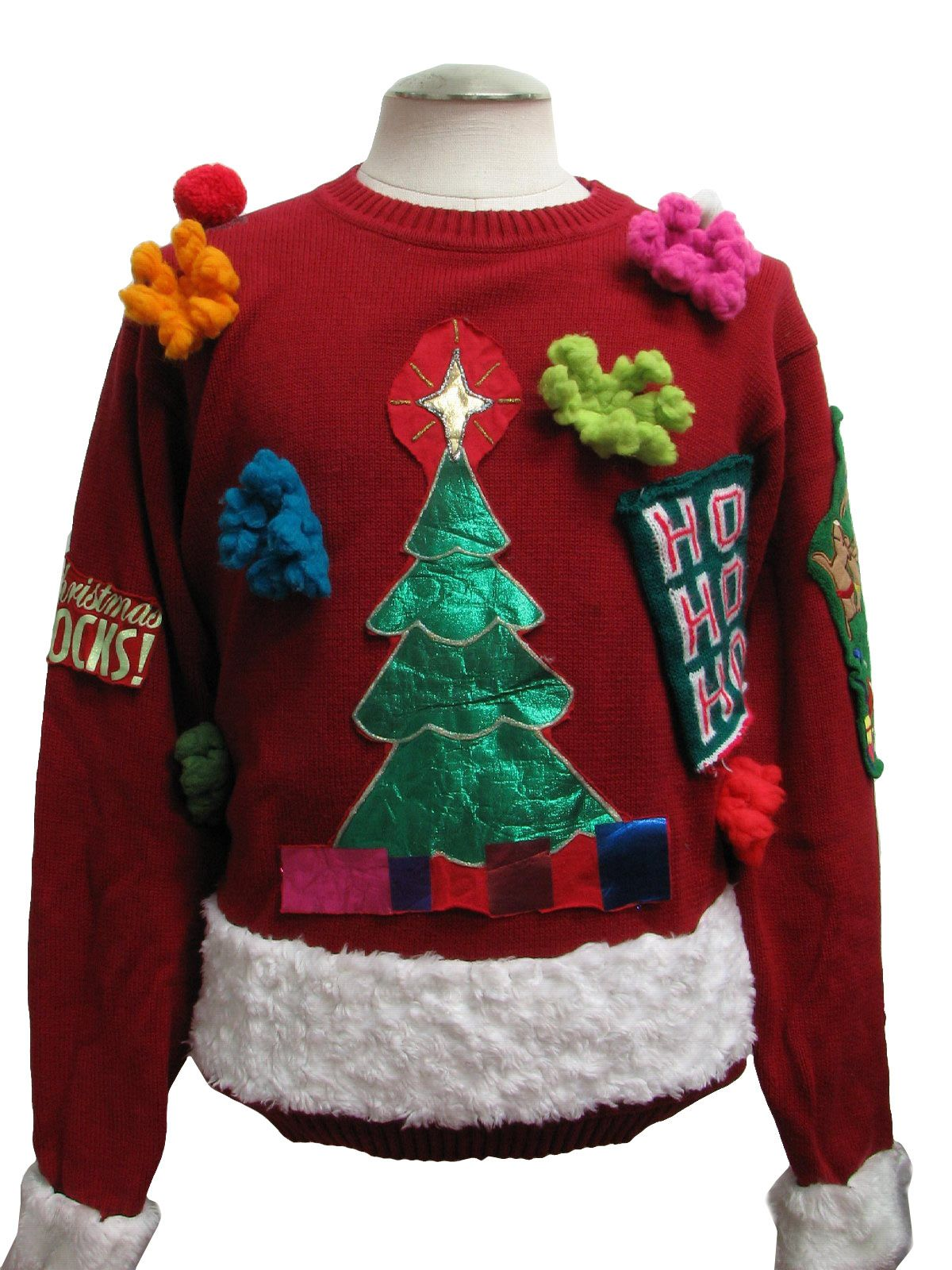 20 Ugly Christmas Sweater Ideas for This Christmas | Homemade ugly ...