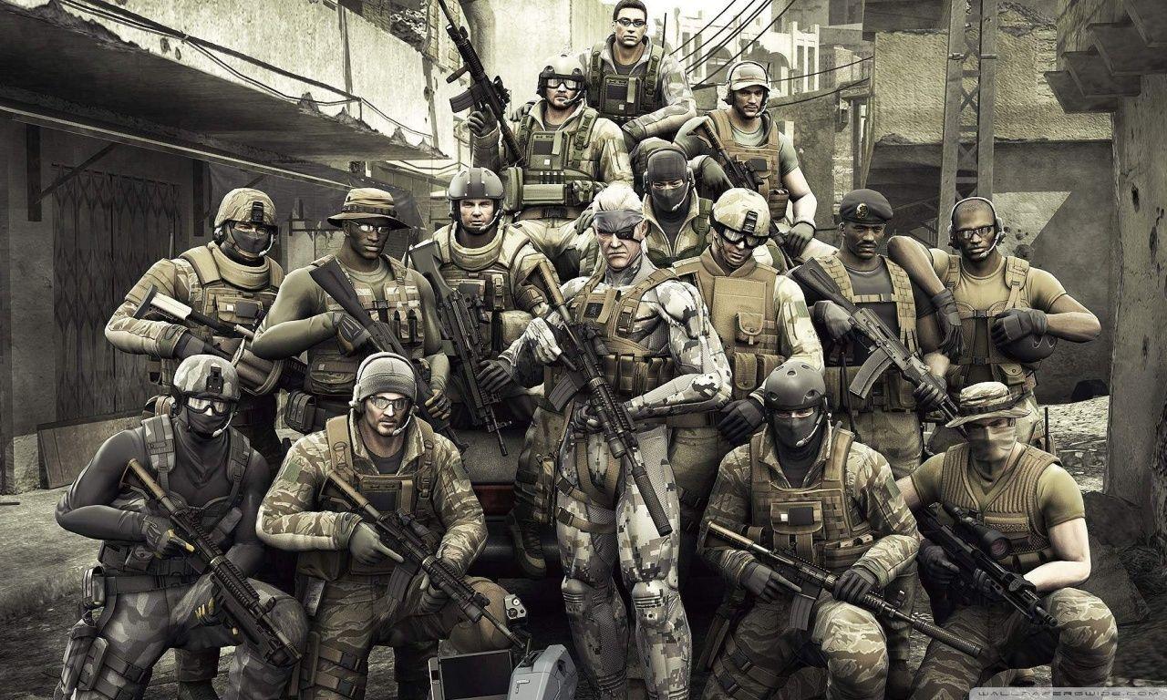 Metal Gear Solid Hd Desktop Wallpaper Widescreen High Metal Gear