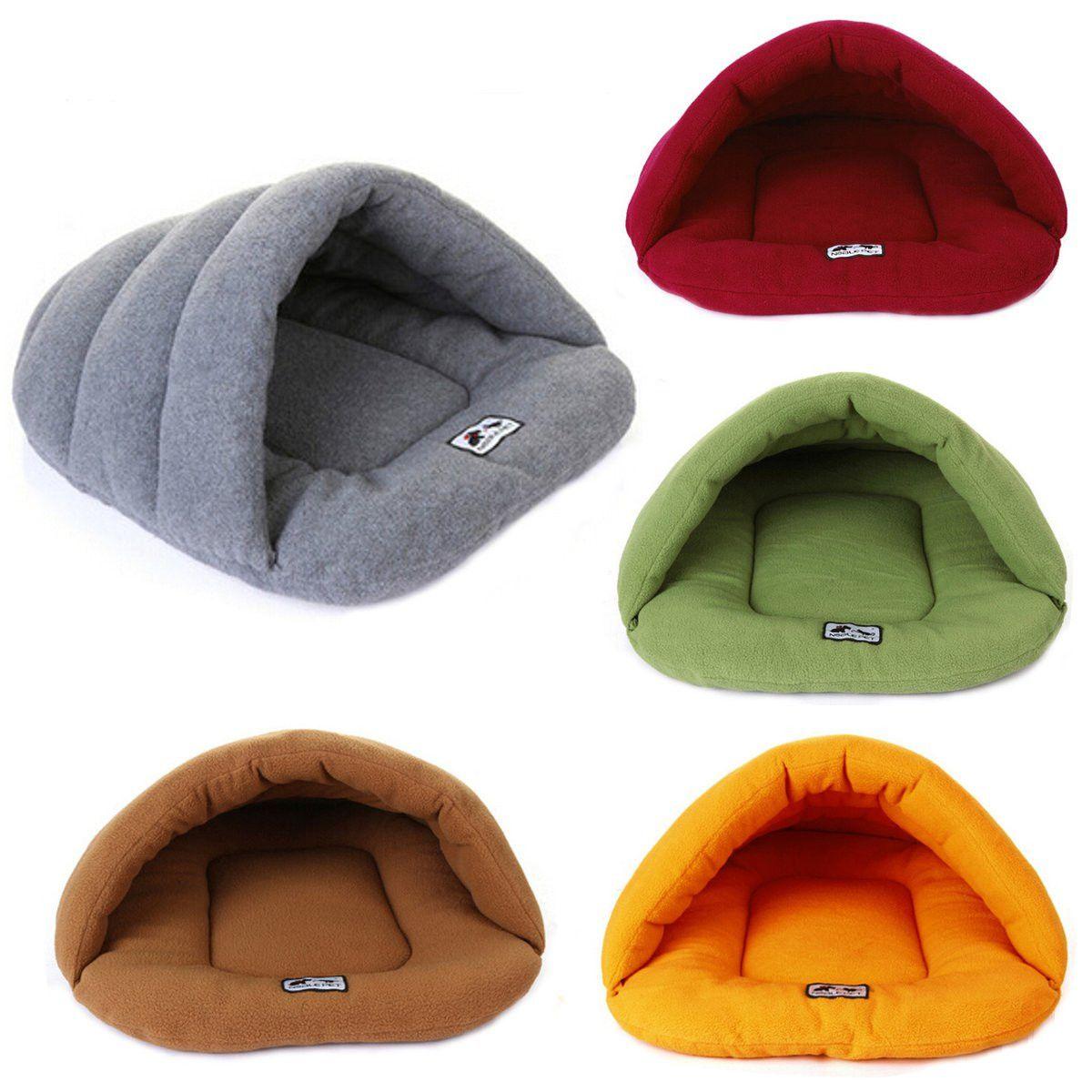 Pet Cat Dog Sleeping Bag Cushion Warm Comfortable House