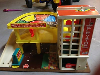 The Elevator Was The Bomb With My Hot Wheels Classic Toys