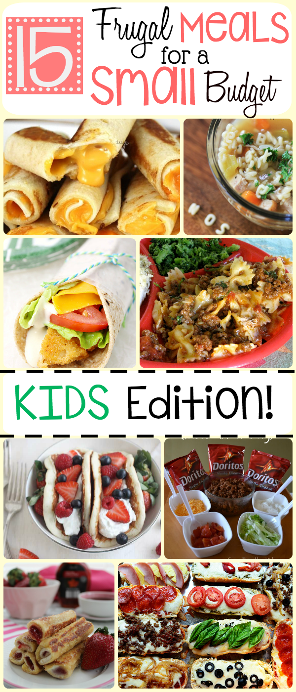15 frugal meals for kids | the group board on pinterest | pinterest