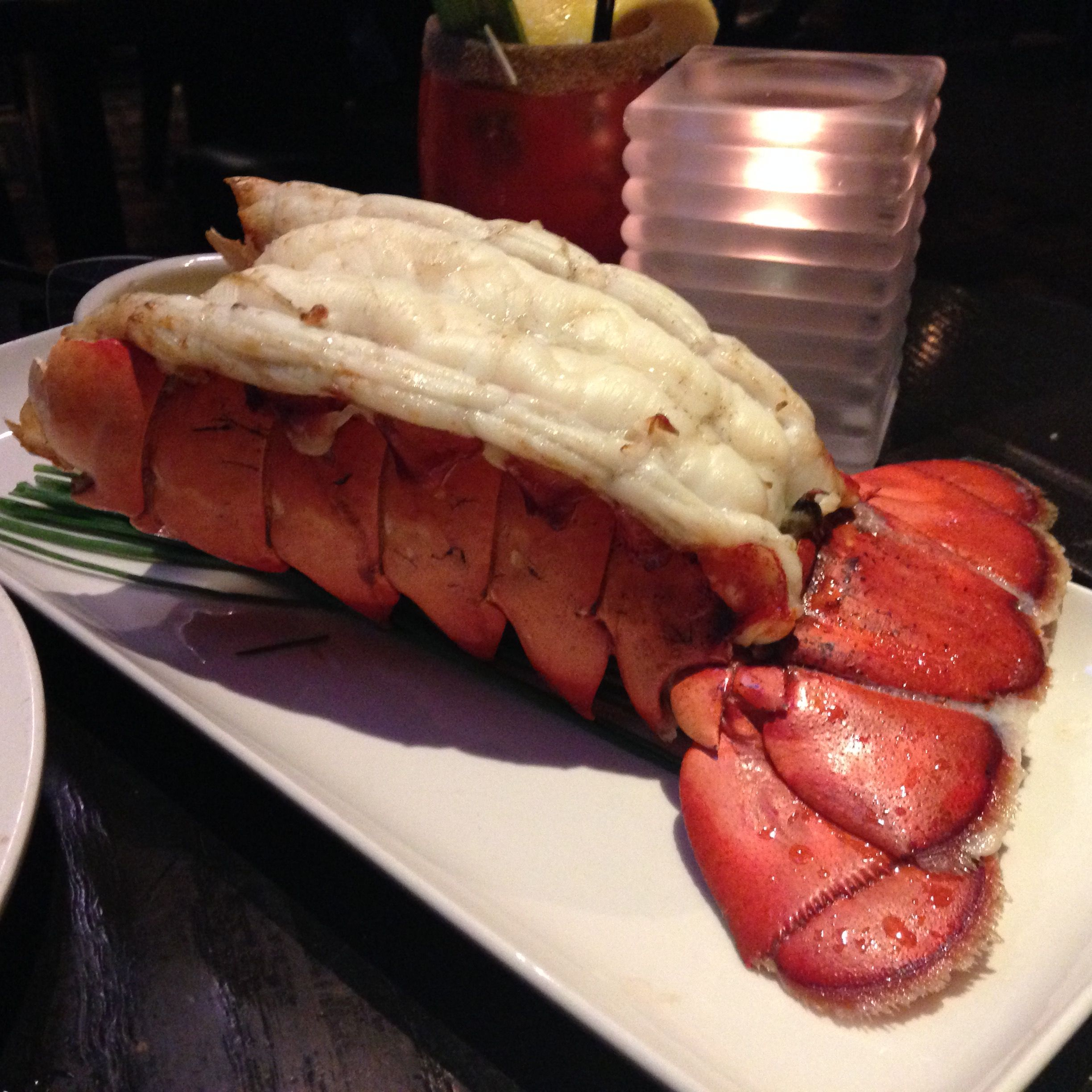 Biggest lobster tail I ever eaten what pounder