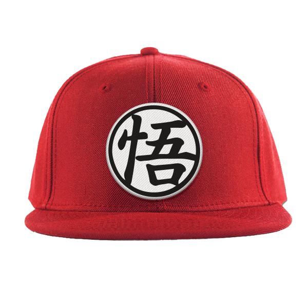6520020cd80 Super Saiyan Goku Symbol Black and White Snapback - PF00182SB