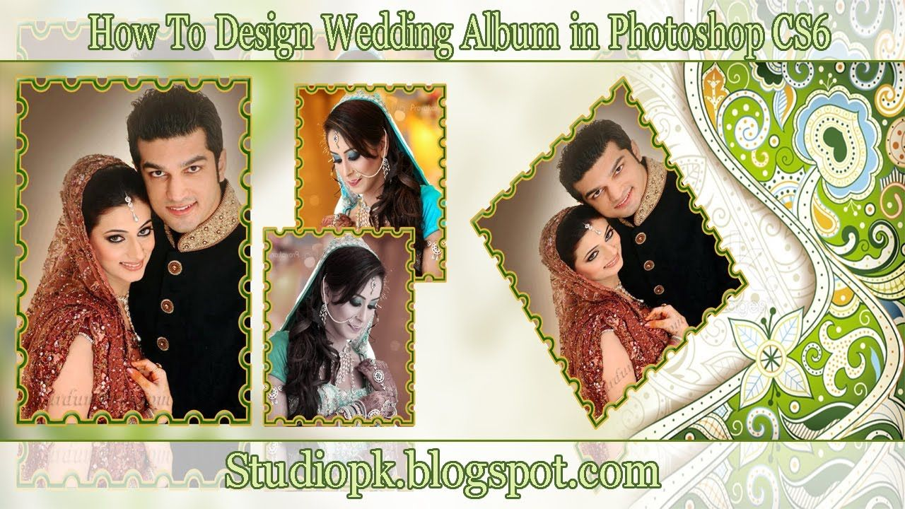 How To Design Wedding Al Page Or Templates In Photo Hindi And Urdu Video Tutorial You Can After Wathing About Karizma Designing Vide