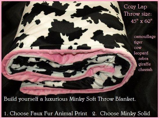 sew custom - Faux Fur Animal Print Throw Blanket, $29.00 (http://www.thethemeroom.com/faux-fur-animal-print-throw-blanket/)