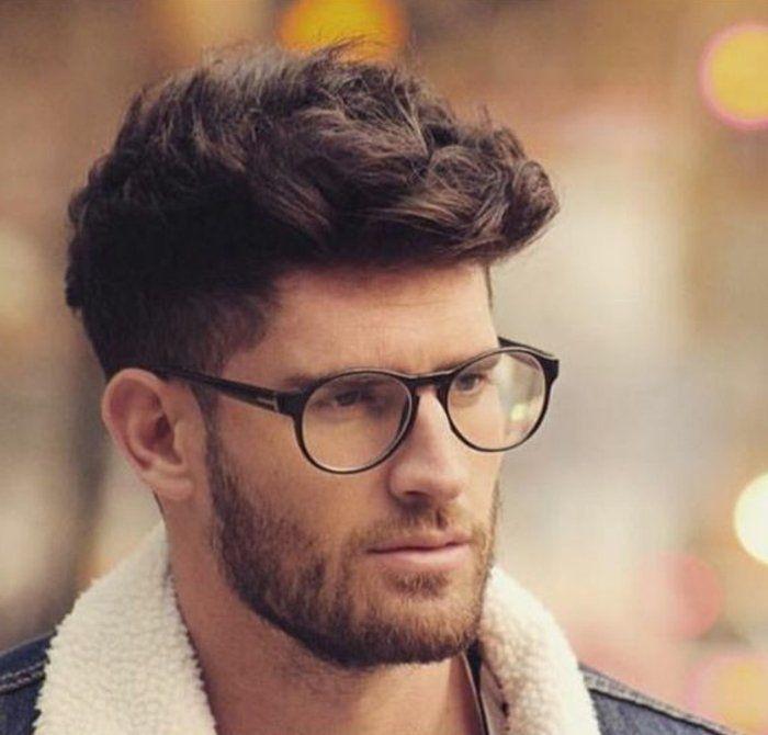 Modele coiffure cheveux frises homme