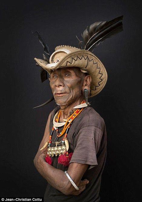 Nagaland's Konyak by Jean Christian Cottu |
