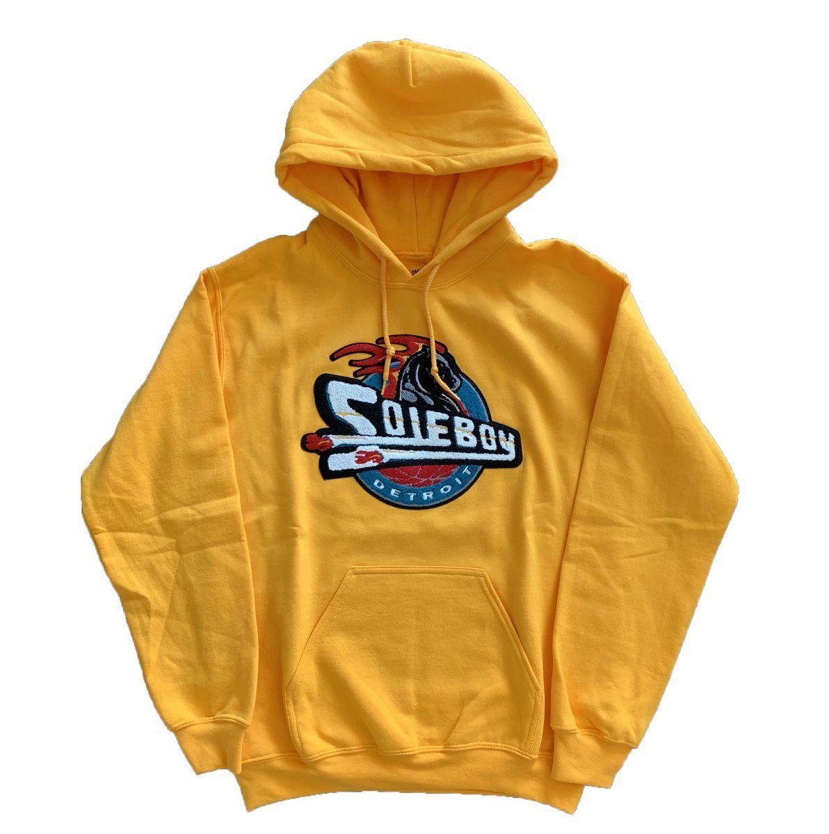 Fury Flame (YELLOW) SoleBoy Apparel Sweatshirts