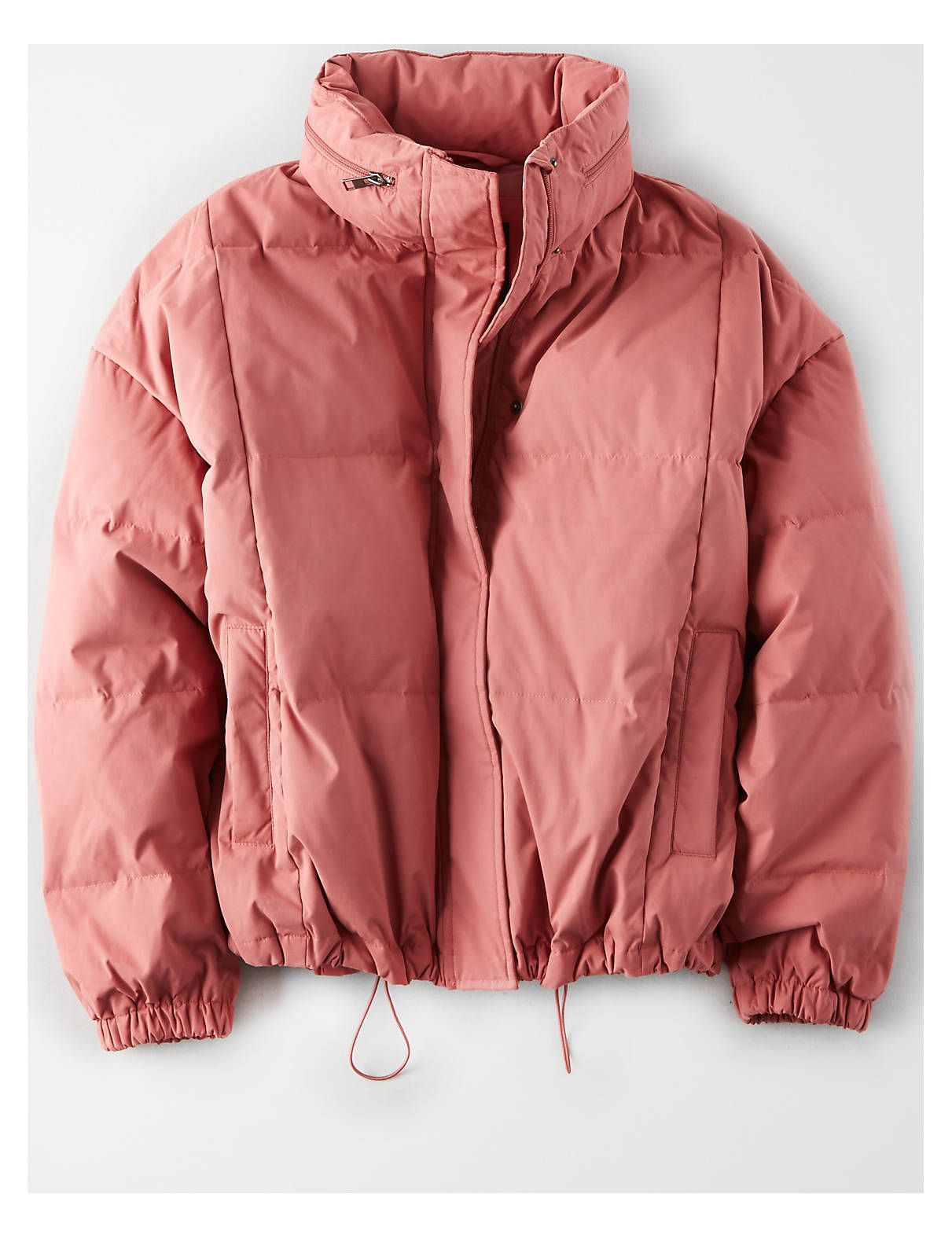 Ae Dolman Sleeve Puffer Jacket Pink American Eagle Outfitters Shop Womens Jackets Mens Outfitters Clothes [ 1575 x 1211 Pixel ]