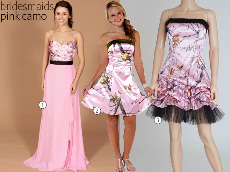 31 Camo Wedding Dresses And Bridesmaid
