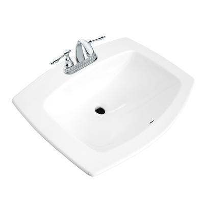Glacier Bay Galla Rectangular Drop In Lavatory 13 0036 4w Gb Home Depot Canada Drop In Bathroom Sinks Bathroom Sink Sink