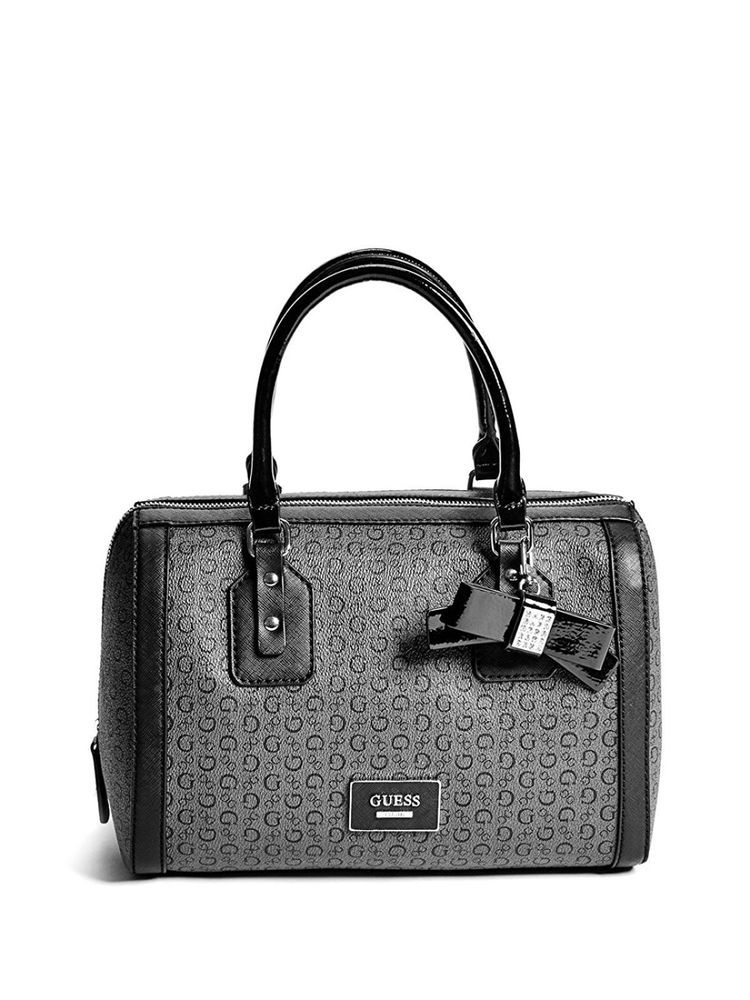 b9a692ad4c9a New Elegant Women Saffiano-Textured Faux-Leather Logo Box Satchel ...