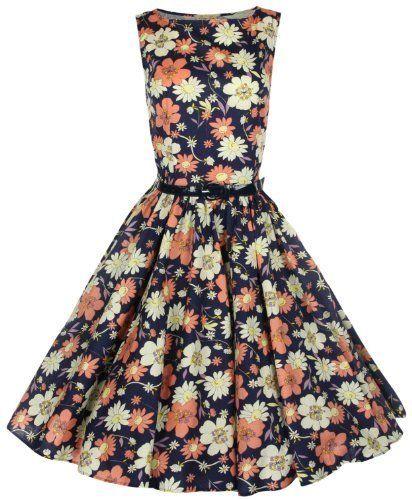 Lindy Bop Women's Audrey Hepburn 1950's Rockabilly Dress - List price: $69.99 Price: $48.99