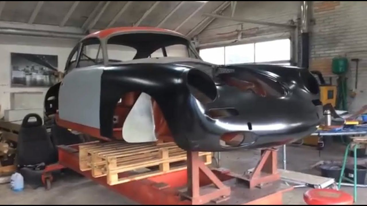 Porsche 356 Complete Restoration By 79dreams On A Celette Frame Machine In 2020 Porsche 356 Truck Frames Commercial Vehicle