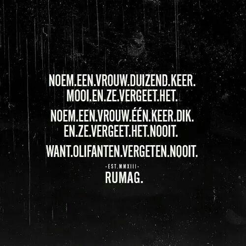 Quotes darum!: vergeetachtig