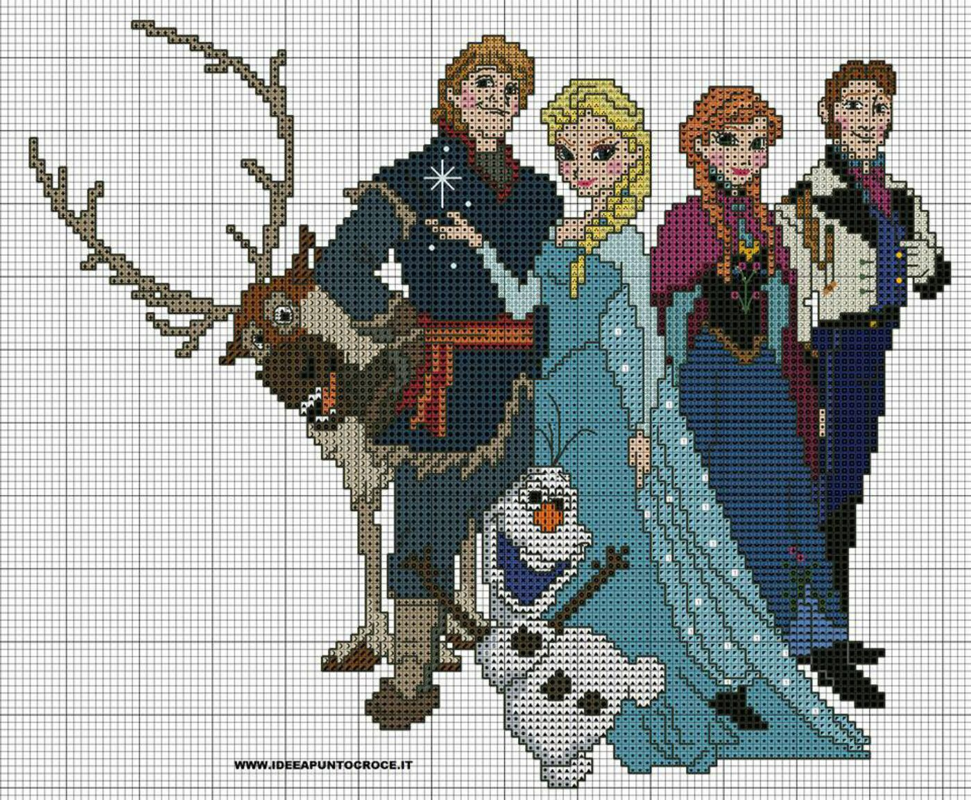 Frozen Gang Cross Pinterest Cross Stitch Stitch And