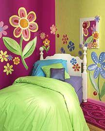 Murales maravillosos para la habitación infantil   Cuartos divinos ...
