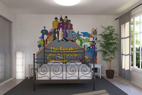 The Beatles wall murals at Photowall Wall murals, Wall
