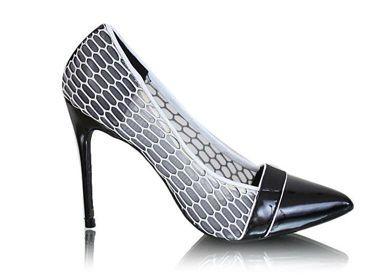 Czarne Czolenka Szpilki G11 1 X19 Tx423 Shoes Pumps Heels