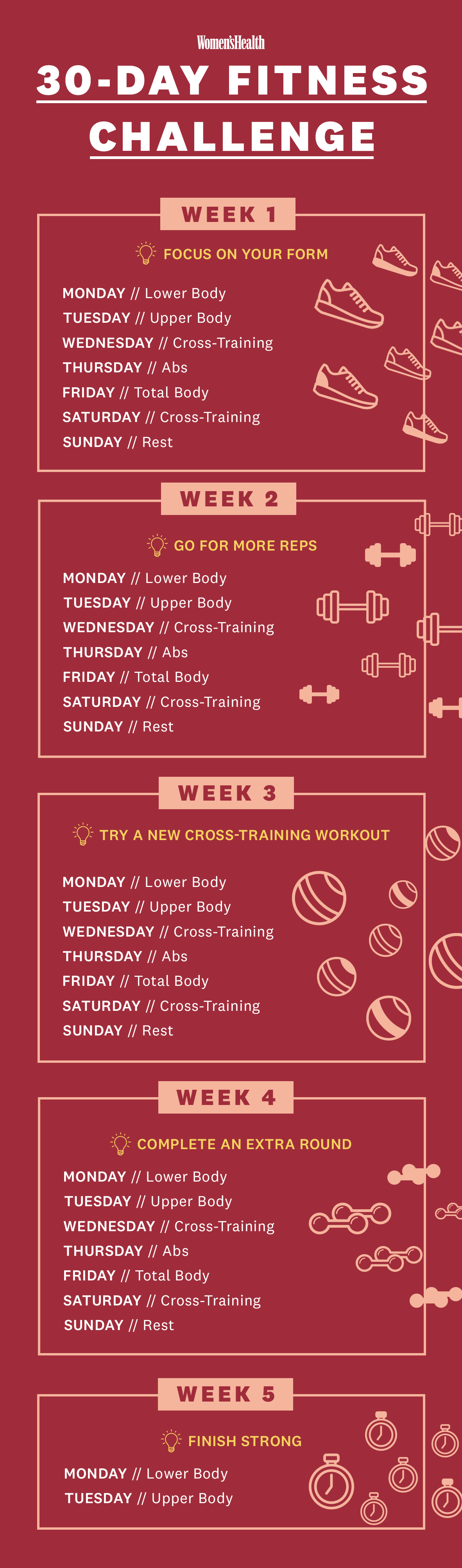 The 30-Day Fitness Challenge You Need To Try