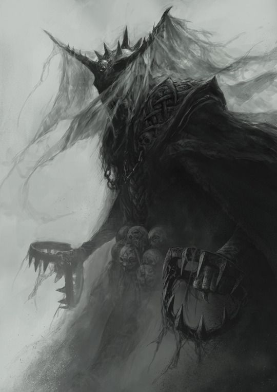 The Dark Judges - Dave Kendall * (Judge Fear : the ethereal embodiment of terror).