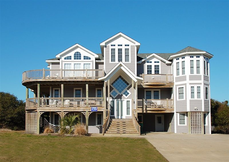 Twiddy outer banks vacation home sandy waters corolla oceanside 9 bedrooms