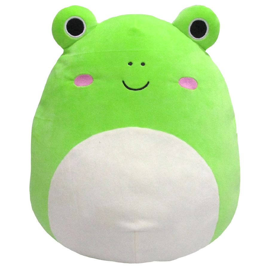 squishmallow frog plush 16 inch