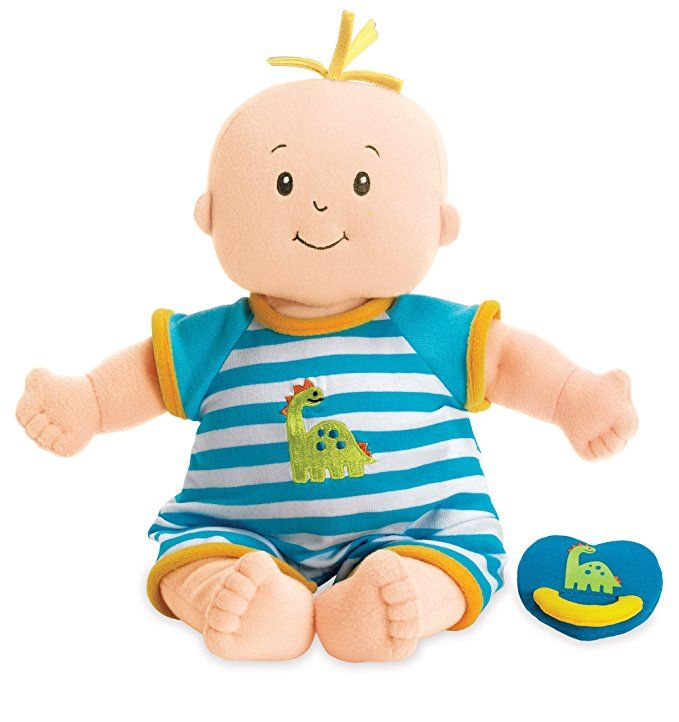 Manhattan Toy Baby Stella Boy Soft First Doll For Ages 1 Year And Up