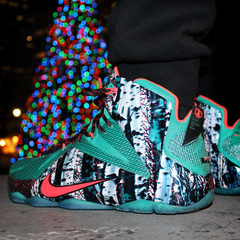 7bd77b8c1a6 Holidays done right. New Nike LeBron 12 inspired by Jame s home city ...