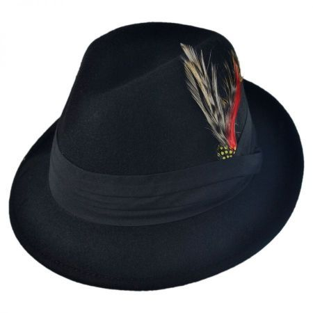 Blues Crushable Fedora Hat - Child available at  VillageHatShop 20367d1ae5a