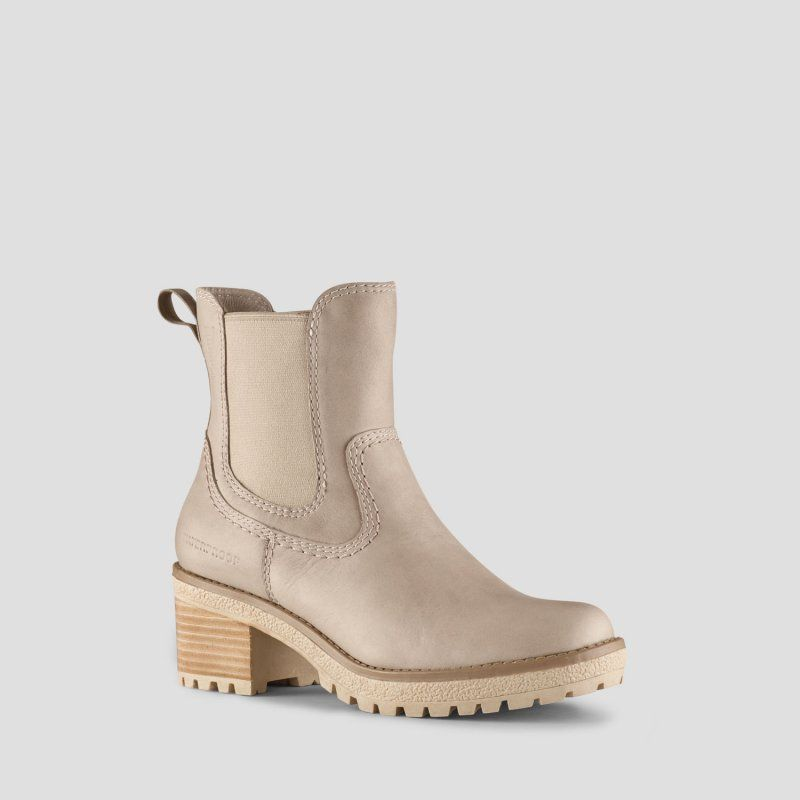 746363c64106 Dallas Leather Heeled Hiker Boot
