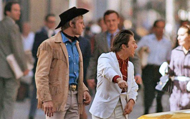 Resultado de imagem para Hoffman e Jon Voight taxi