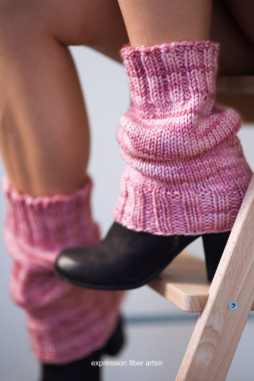 scrunchable knitted leg warmer pattern - free! | Knitting Patterns ...